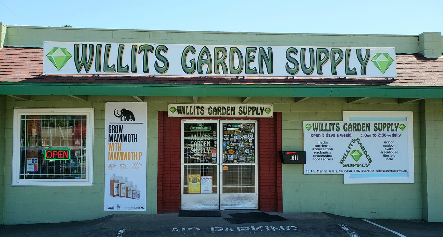 Welcome to Willits Garden Supply!